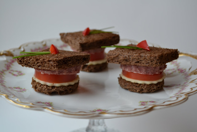 graduation tea sandwiches
