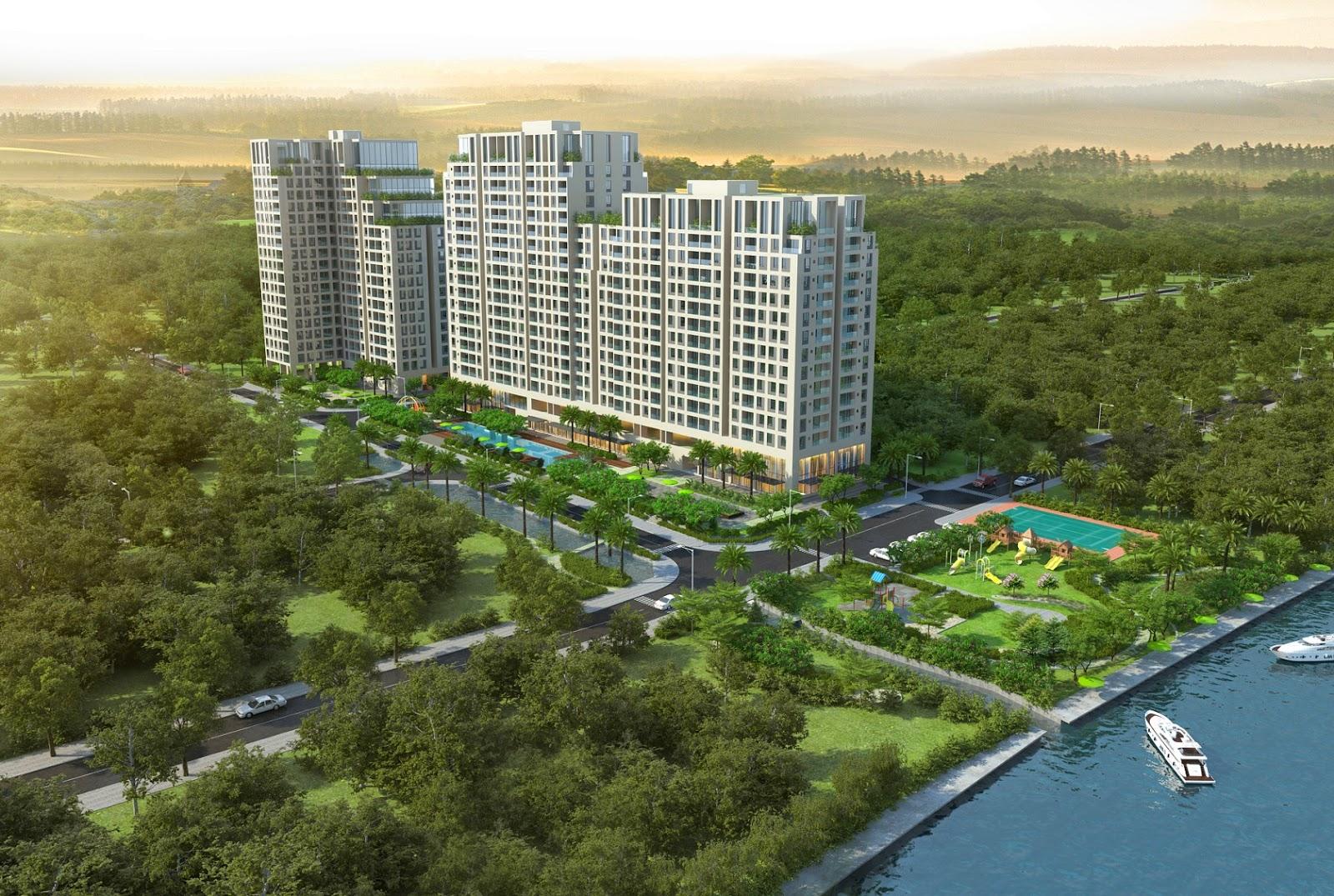 Phối cảnh dự án căn hộ Opal Riverside