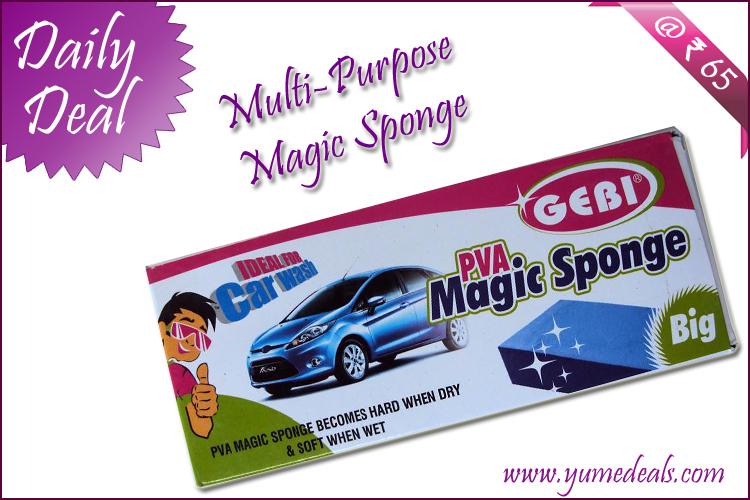 Yumedeals Com Best Deal Of The Day Magic Sponge Is