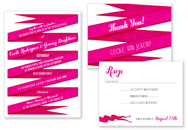 Printable press, ribbon twist stationary, pink wedding invitations, red wedding invitations, how to save on your wedding statonary, save on your wedding invitations, Catholic wedding planning, Catholic wedding blog, Catholic brides