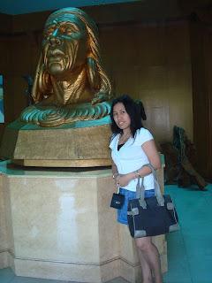 chieftain apo in Subic museum