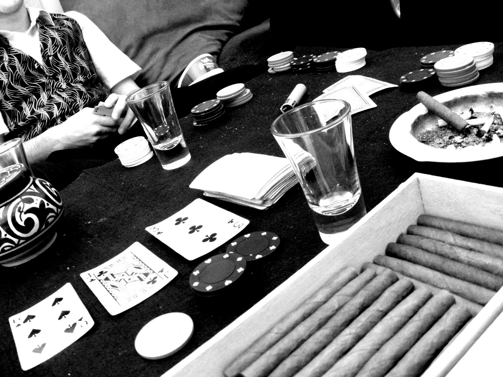 Image result for poker photography black in white