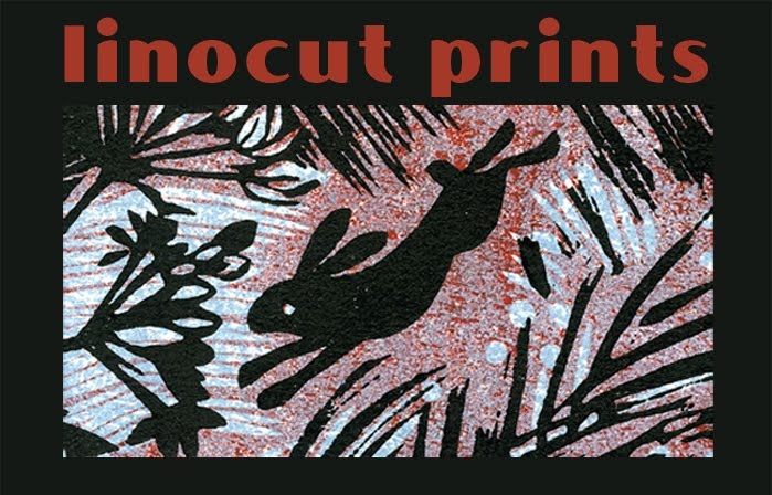 My linocuts & woodcuts