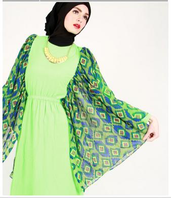 Foto Busana Atasan Desain Baju Muslim Wanita Modern Jaman