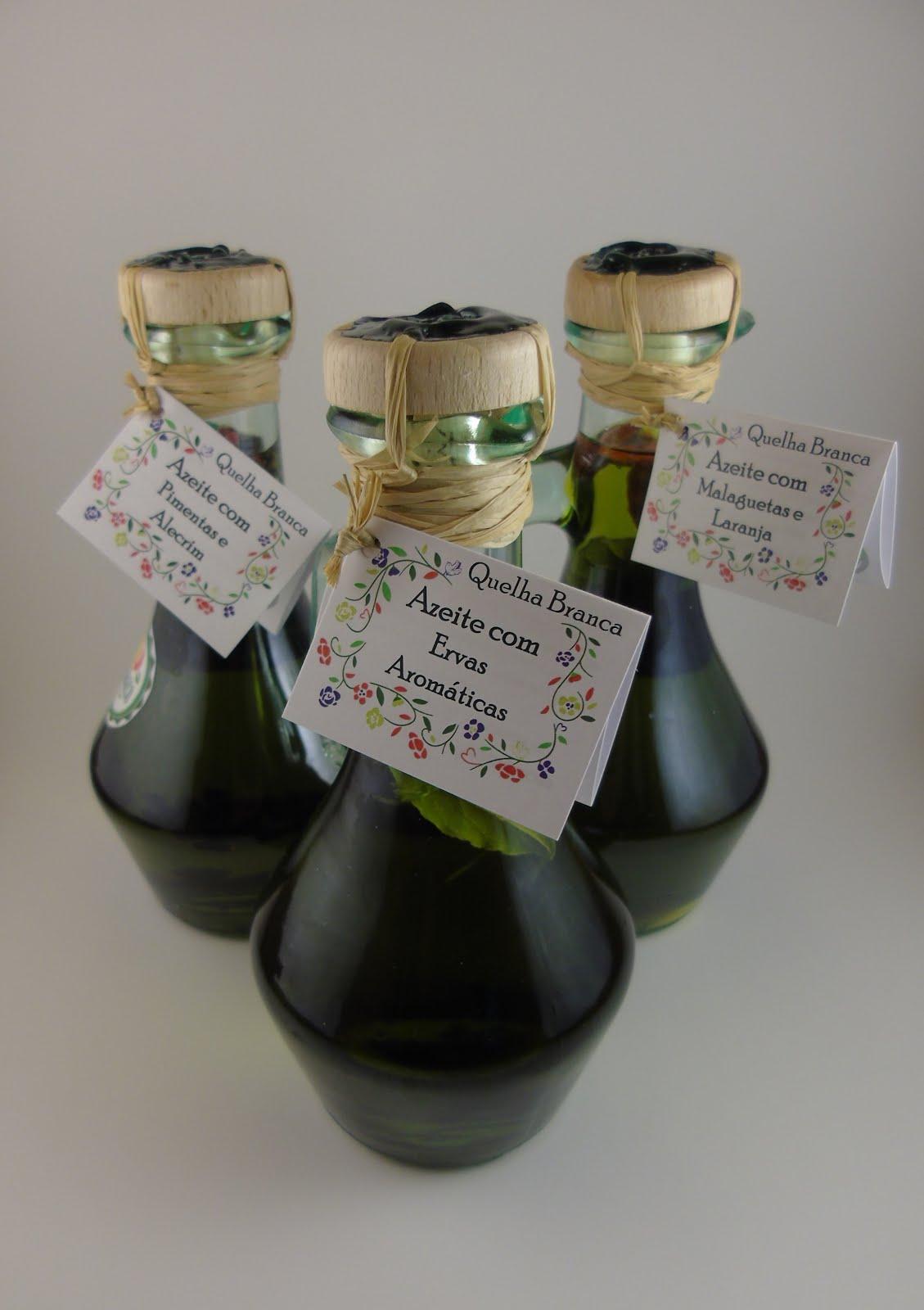Azeite e Vinagre de Aromas