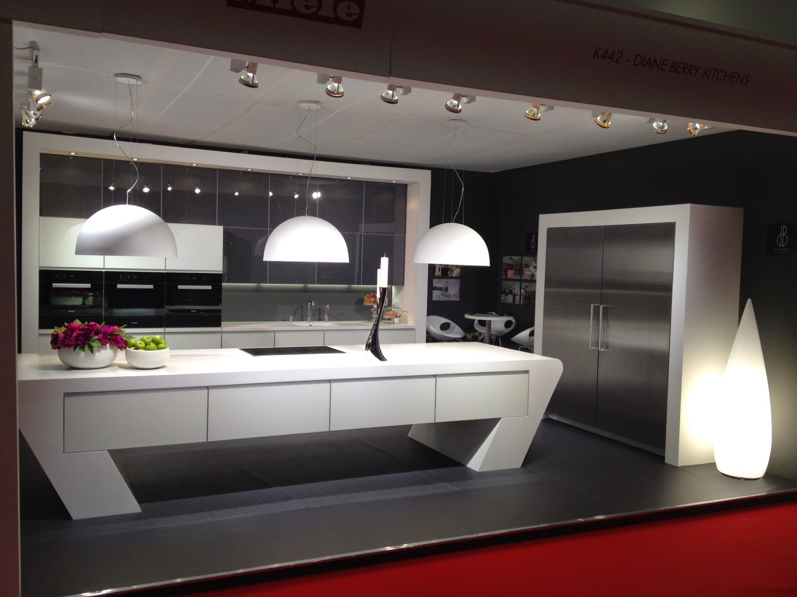 diane berry kitchens - client kitchens: grand designs live in