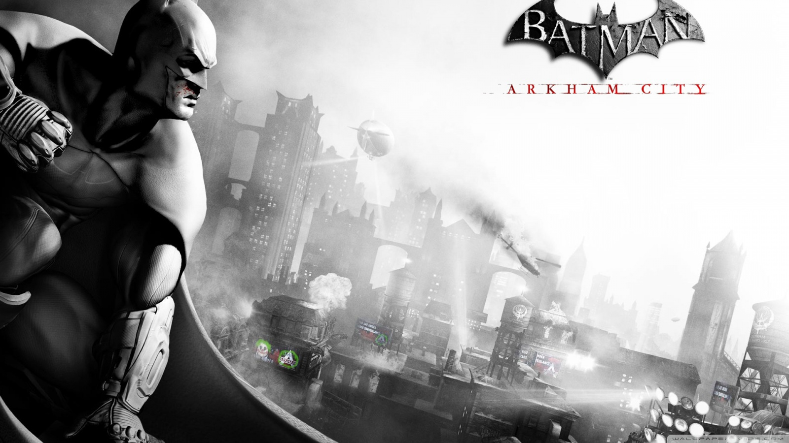 freaking spot batman arkham city full hd 1080p wallpapers