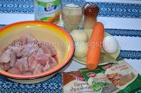 Тефтели в подливке: продукты