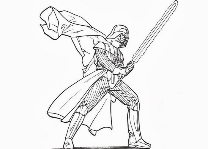 Star Wars Darth Vader coloring pages Free Coloring Pages and
