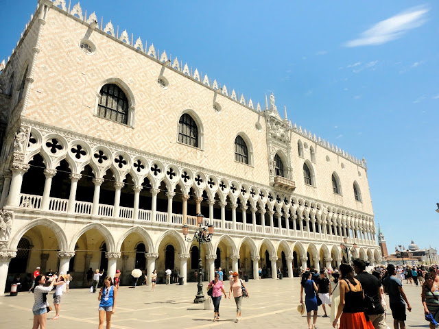 The Doge's Palace / Palazzo Ducale in Piazza San Marco, Venice, Italy
