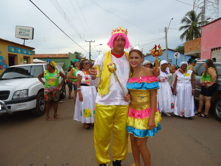 Rei Momo Alcimario Lopes e Rainha Do Carnaval 2013