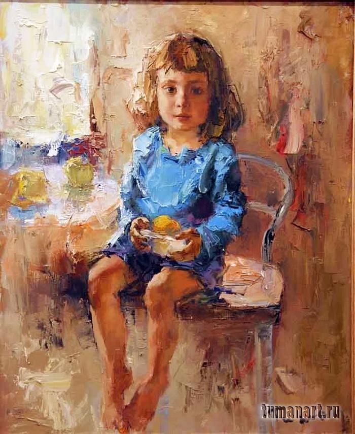 Tuman Zhumabaev 1962 | Russian Impressionist painter