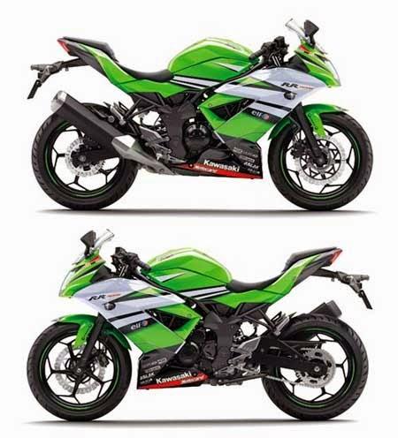 Tampilan Kawasaki Ninja RR Mono 2015