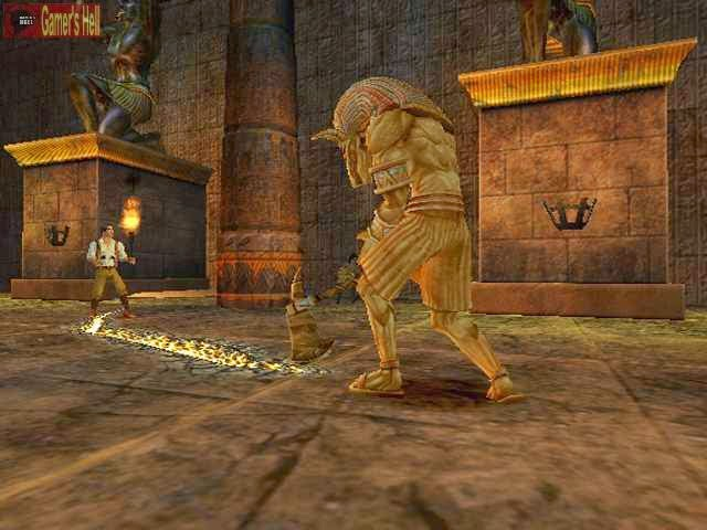 CHEAT THE MUMMY RETURNS PS2