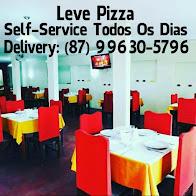 LEVE PIZZA AGORA COM SELF-SERVICE