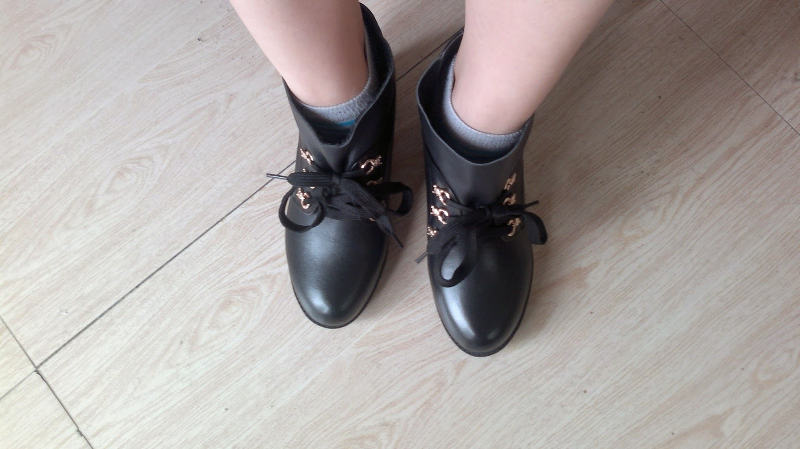 Black Ankle Boots 6