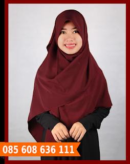 hijab segi empat glamor