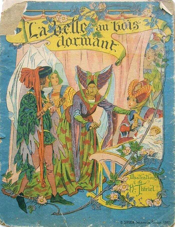 La belle au bois dormant Anciennes illustrations dun conte ~ Illustration La Belle Au Bois Dormant