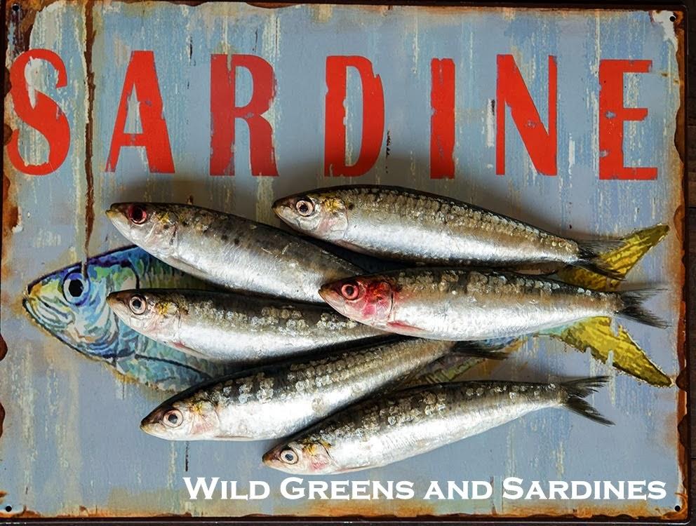 Wild Greens and Sardines