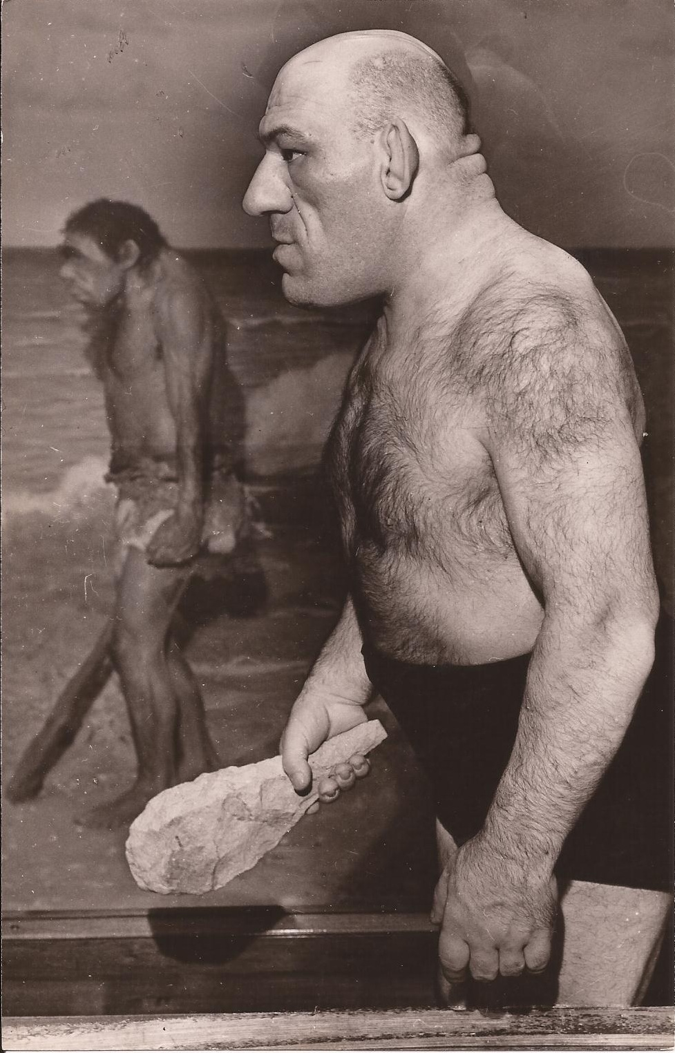 ... Maurice Tillet, Death Masks, and how he inspired Shrek: MAURICE TILLET Maurice Tillet Shrek