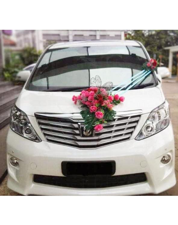 Bunga Hias Car Decor Mobil Pengantin