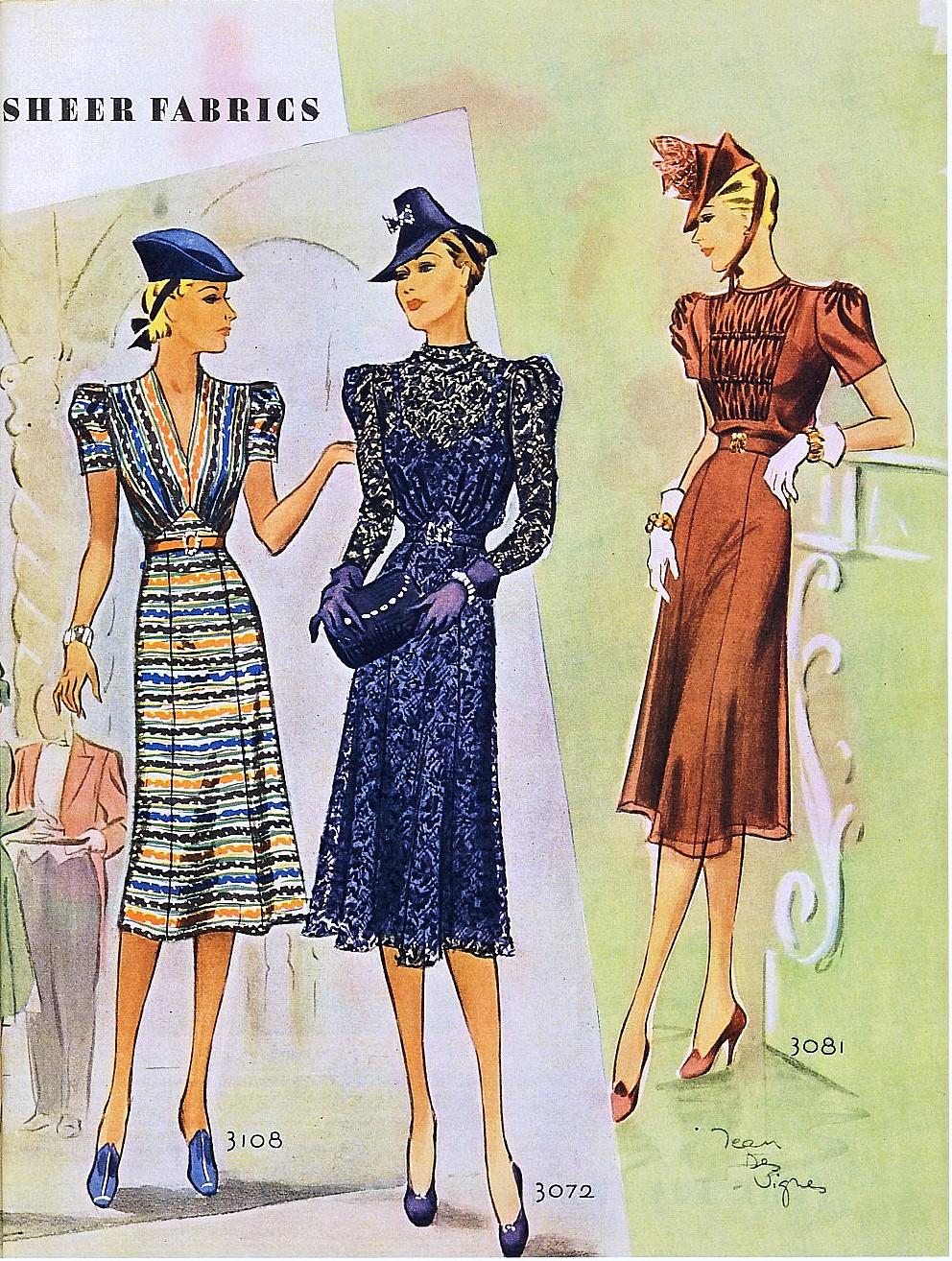 Журнал мод 50-х годов фото