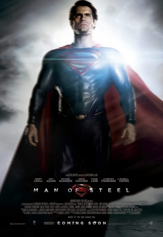 Afiche de El Hombre de Acero