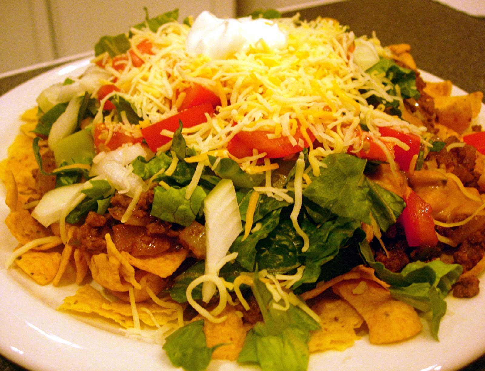 Taco Salad & Taco Seasoning Mix | Drick's Rambling Cafe