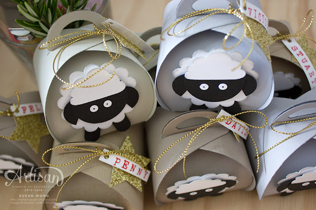 Curvy Keepsake Christmas Sheep ~ Susan Wong