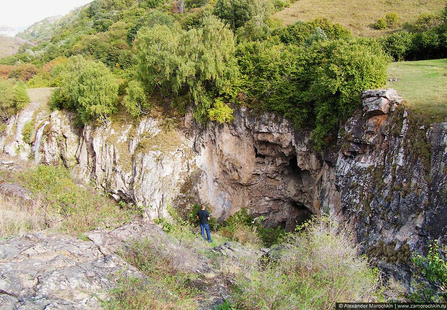 На Медовых водопадах