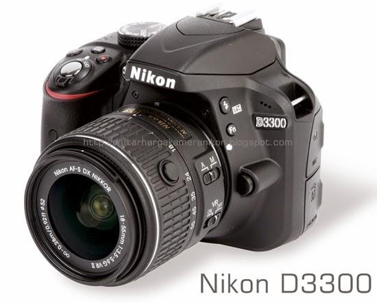 Harga Kamera DSLR Nikon D3300
