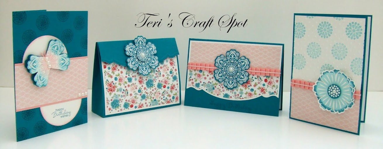 Teri's Craft Spot - UK Stampin' Up! Demonstrator