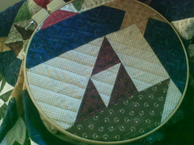 Glory Bee Quilting : hand quilting without a hoop - Adamdwight.com
