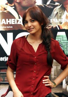 Gambar Sara Ali Cun Jelita Promosi Filem Songlap