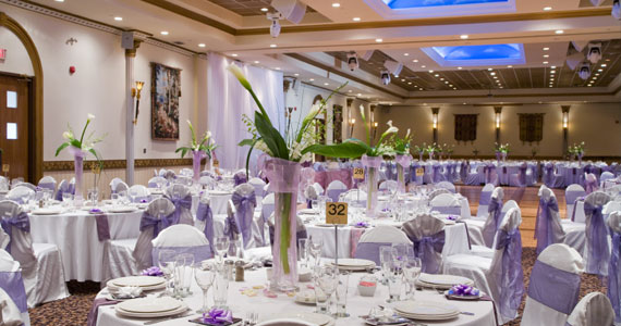 Wedding collections tables wedding decorations for Wedding banquet decorations