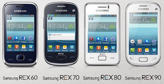Samsung New REX series