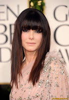 Sandra Bullock at the Golden Globe Awards