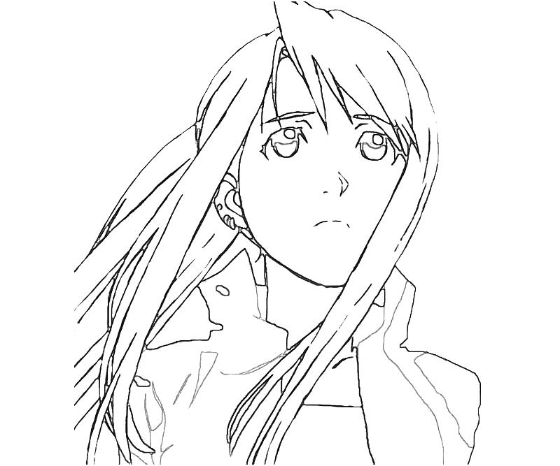 printable-fullmetal-alchemist-winry-rockbell-face-coloring-pages