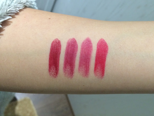 Barry M Ultra Moisturising Lip Paints - Autumn Lipstick Shades - Swatches