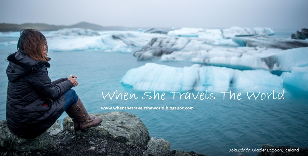 :: When She Travels The World ::