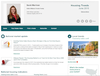 Housing Trends June 2015 Newsletter