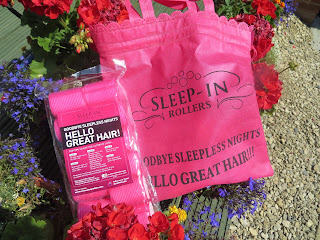 Sleeprollers pink hair rollers review blogger big volume TOWIE Amy Childs