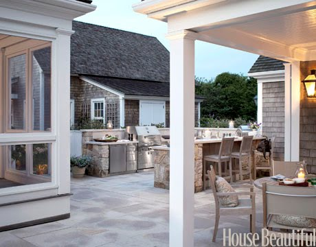 Beach House Plans: Best Outdoor Kitchen Ever?