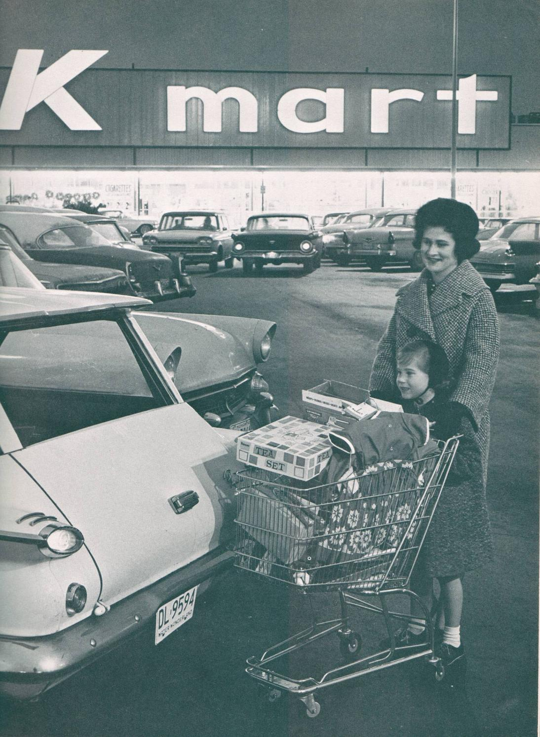 The First Kmart Department Store Opens In Garden City Michigan In 1962