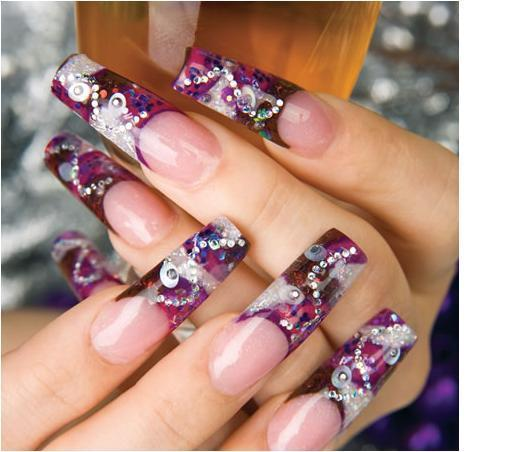 Nails and fashion tips dise os de u as de internet - Imagenes unas de gel ...