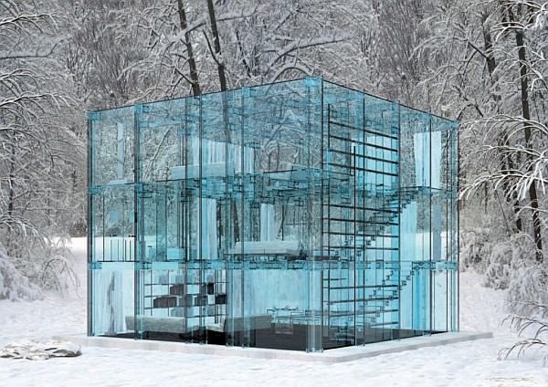 Design in the world: GLASS HOUSE!