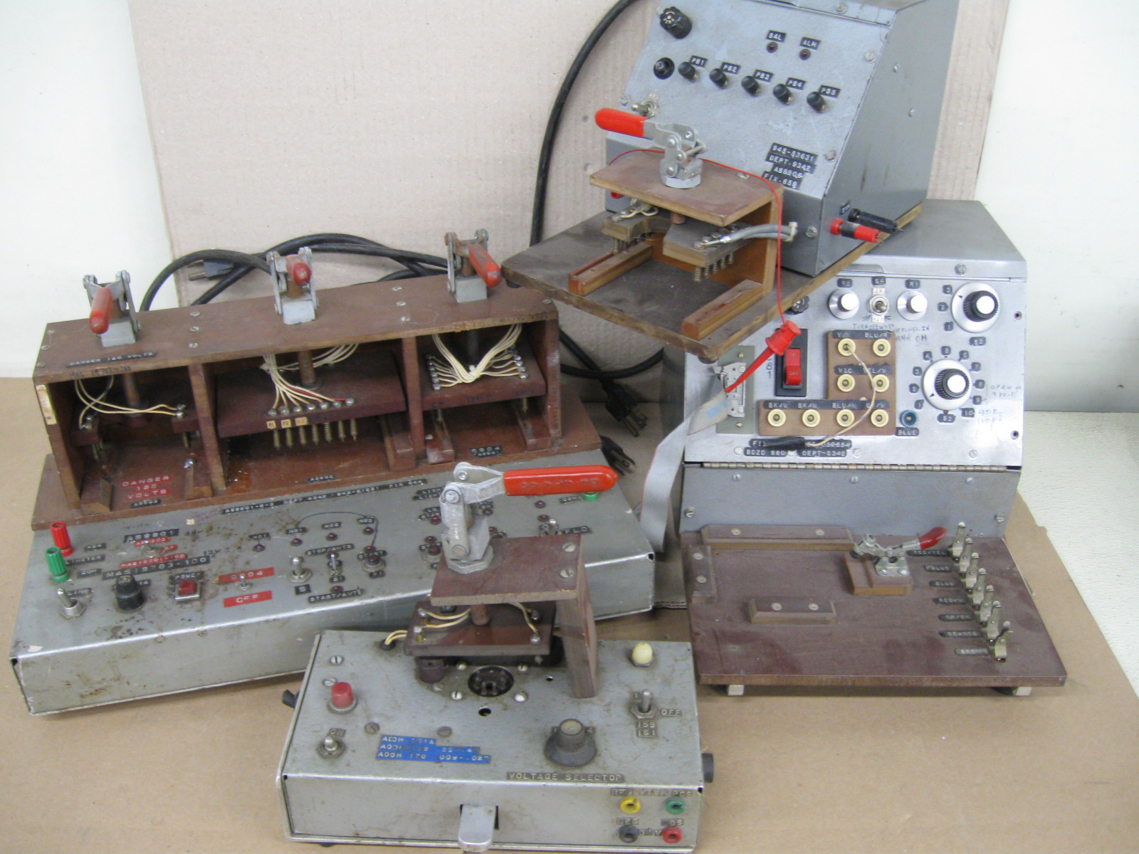 Surplus Electronic Test Equipment : Gwz surplus geewhiz what a deal vintage electrical