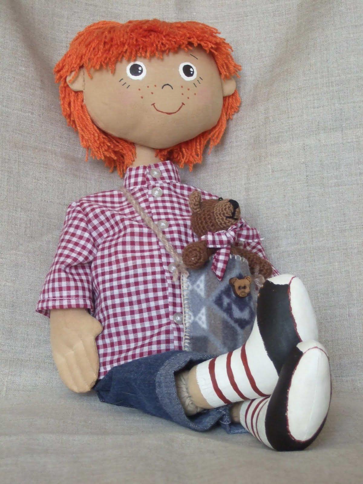 Тряпичная кукла-закрутка Страна Мастеров 89