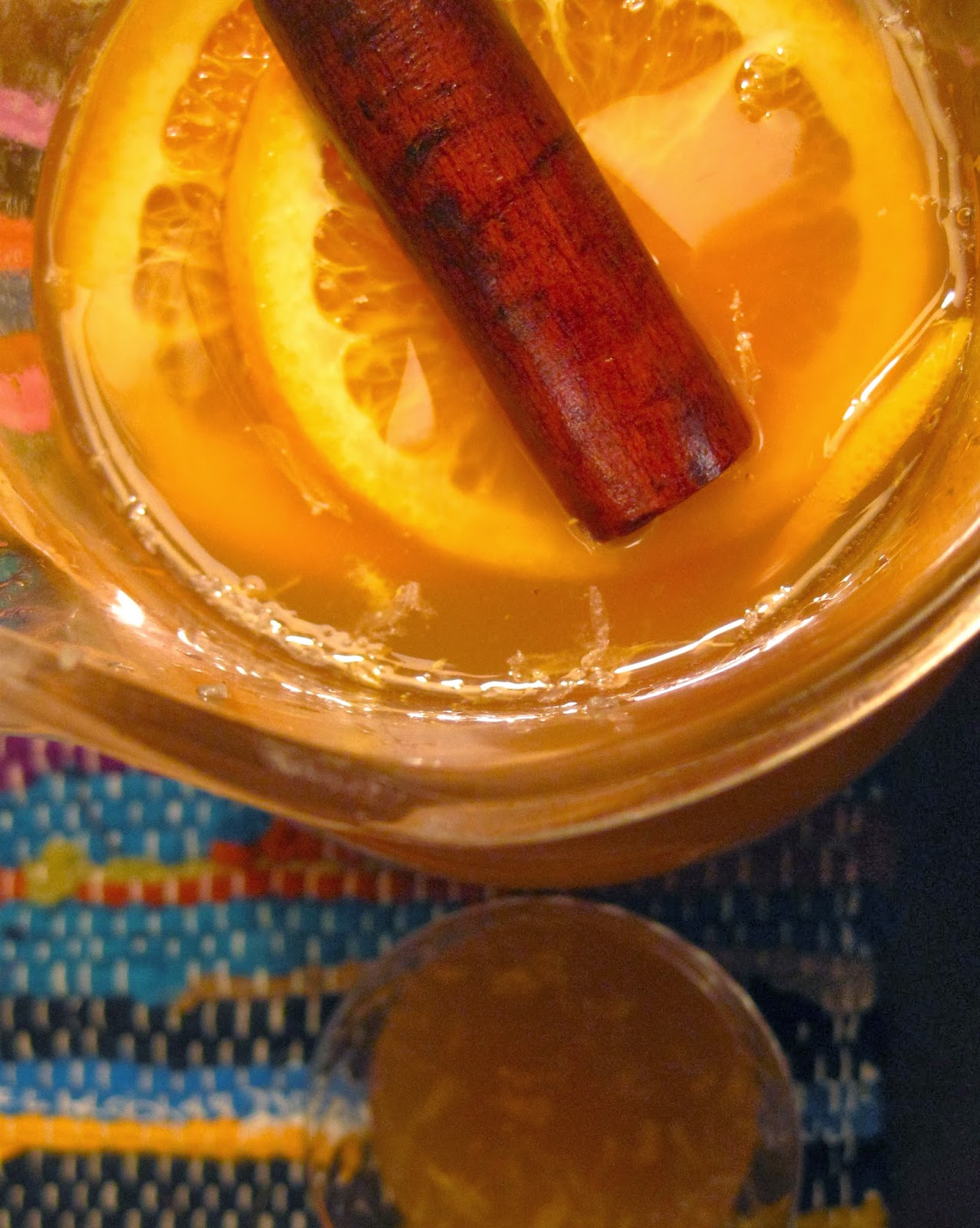 kvell in the kitchen: chilled whiskey cider punch