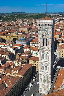 Giotto's Campanile em Florença